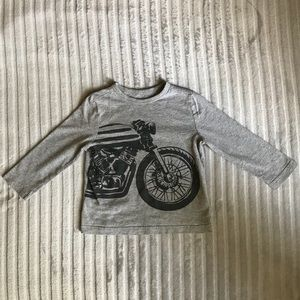 Old Navy Motorcycle Long-Sleeve T-Shirt